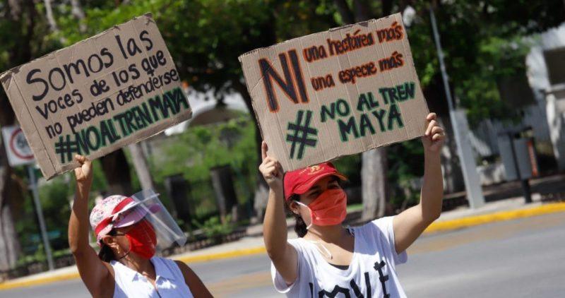 Comunidad indígena logra otra suspensión definitiva contra el Tren Maya; Fonatur impugnará