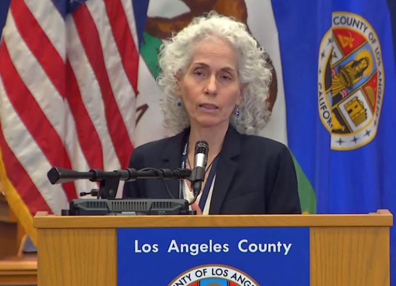 Amenazas de muerte por sus acciones contra el COVID-19, denuncia la Directora de Salud Pública del Condado de LA, Bárbara Ferrer