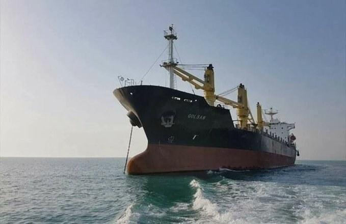 Llega a Venezuela barco iraní con comida