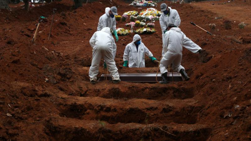 Video: Brasil deja de informar sobre el total de muertes y casos de covid-19