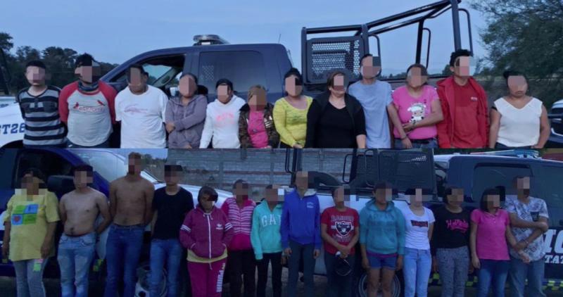 """Videos: La madre de """"El Marro"""" no está en manos de """"El Mencho""""; la detuvo el Ejército junto con 29 personas del cartel Santa Rosa de Lima"""