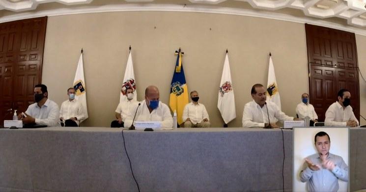 Gobernadores de oposición hacen subgrupos para reactivación económica