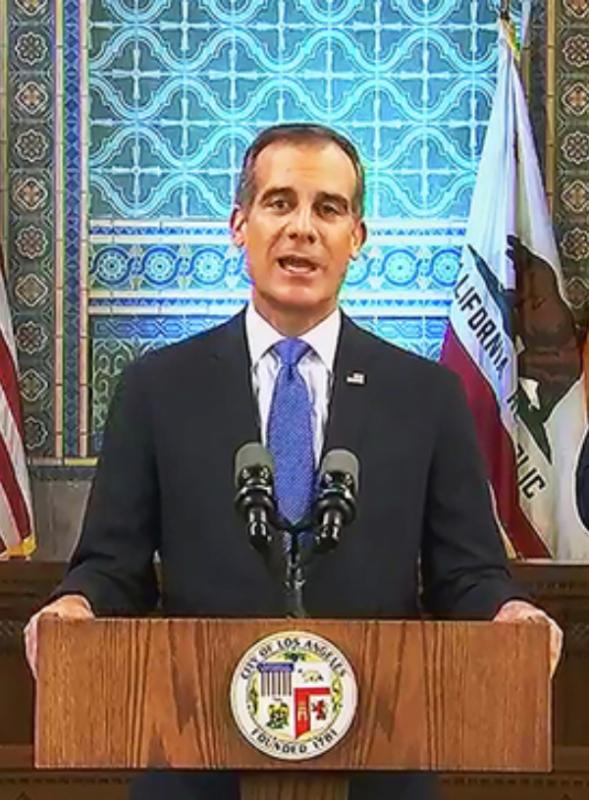 Video: Alcalde de Los Ángeles anuncia nuevas directivas a favor de la equidad racial en la ciudad