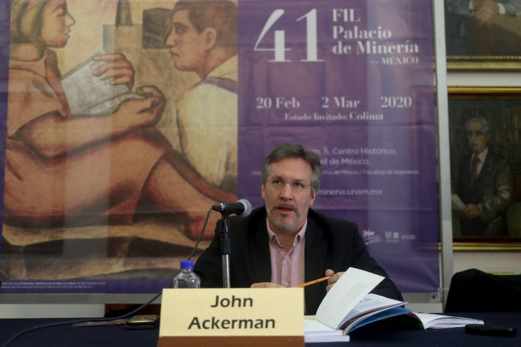 John Ackerman procederá legalmente contra Loret de Mola