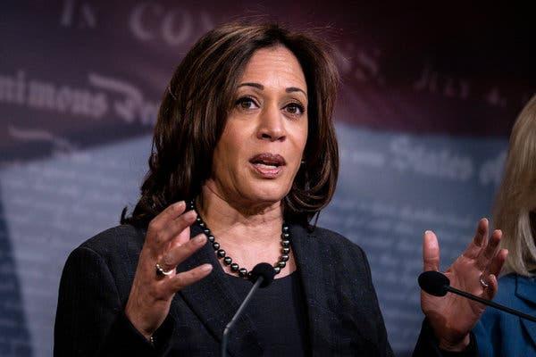 Sondeo indica mayoritario respaldo para que la senadora californiana Kamala Harris  sea postulada como vicepresidenta de EU por los demócratas