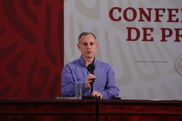 Manejo de cifras en medios busca confundir: López-Gatell a diputados