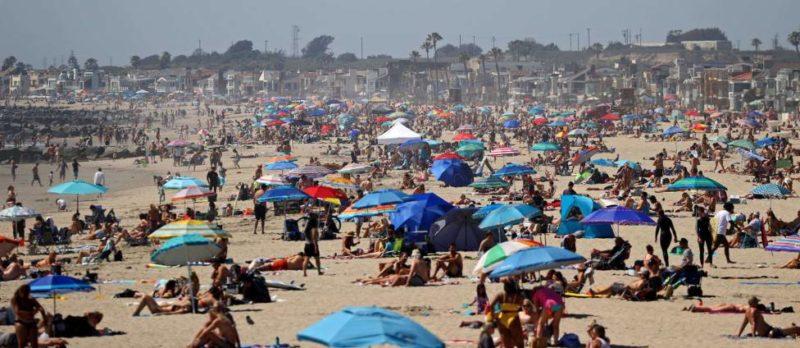 """California registra cifra récord de 6,000 infectados de COVID-19 en un día. Gobernador dice que si siguen el alza los casos volvería de nuevo el """"quédate en casa"""""""
