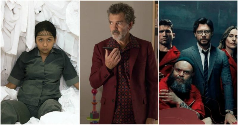 Videos: La camarista, Dolor y gloria y La Casa de Papel, las grandes ganadoras de los Premios Platino de Cine Latinoamericano