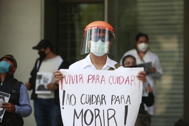Panorama informativo sobre COVID-19 en México