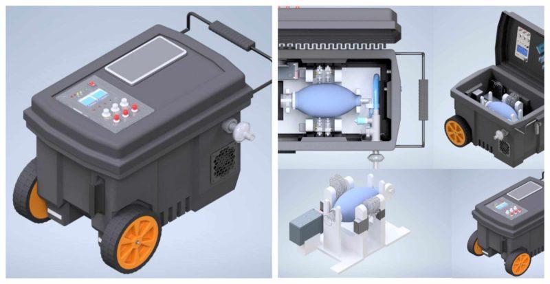 Listo para su distribución el primer ventilador, económico y portátil, creado por UNAM para enfrentar COVID-19 en México