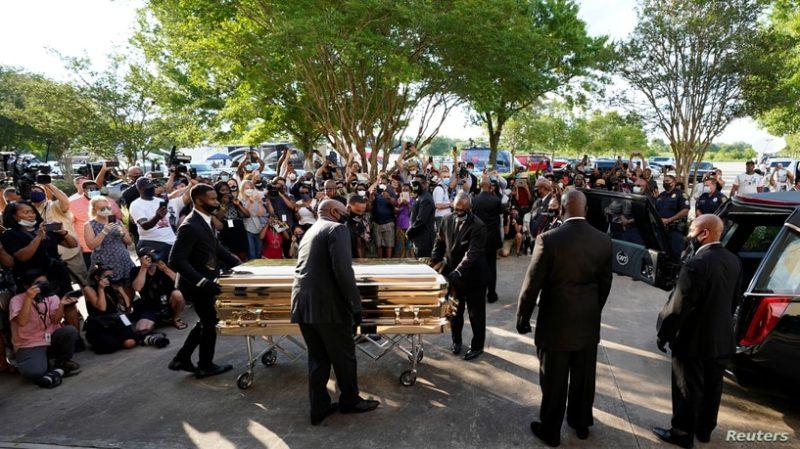 Video: Funerales de George Floyd en Houston se convierten en una tribuna contra el racismo, brutalidad policiaca y Trump