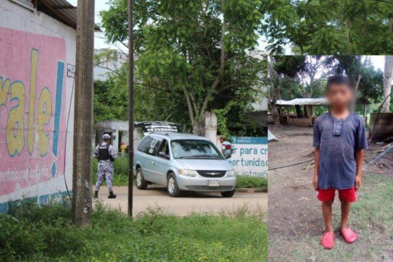 Secuestran, torturan, violan y asesinan a niño de 10 años en Acayucan, Veracruz