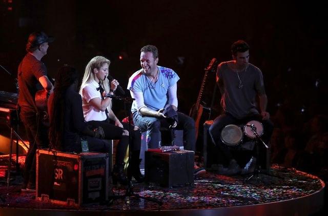 Shakira, Coldplay y Bieber recaudan fondos para vacuna del Covid-19