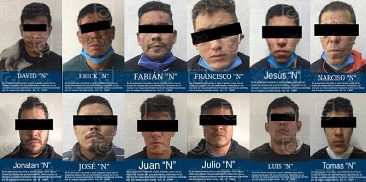Vinculan a proceso a 12 detenidos por atentado a García Harfuch