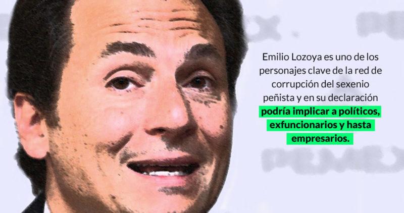 Emilio Lozoya arribó a territorio mexicano. Quedó detenido. Ahora, cumplirle a Gertz: a soltar a sopa