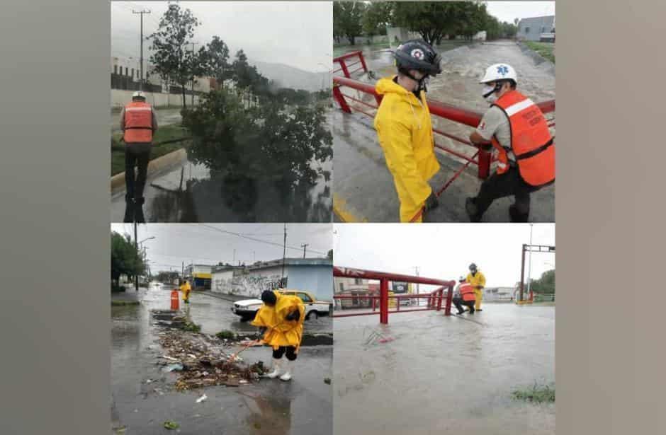 """Videos: """"Hanna"""" causa severos daños en Nuevo León y paraliza actividades gubernamentales y comerciales"""