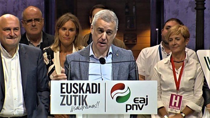 El Partido Nacionalista Vasco vuelve a ganar las elecciones . Por primera vez tendrá 21 escaños