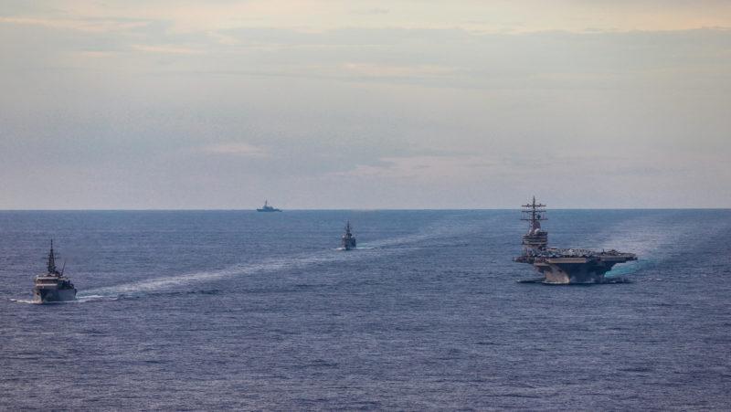 """Video: China insta a EE.UU. a detener sus """"intentos de perturbar y sabotear la paz y la estabilidad"""" en el mar de la China Meridional"""