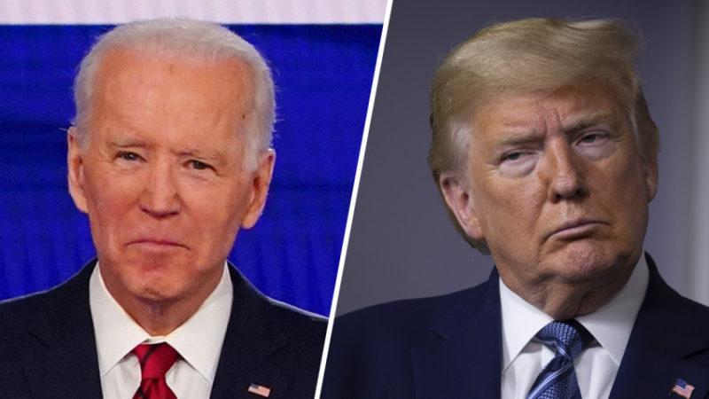 Biden tiene 11 puntos de ventaja sobre Trump en encuesta de NBC y Wall Street Journal