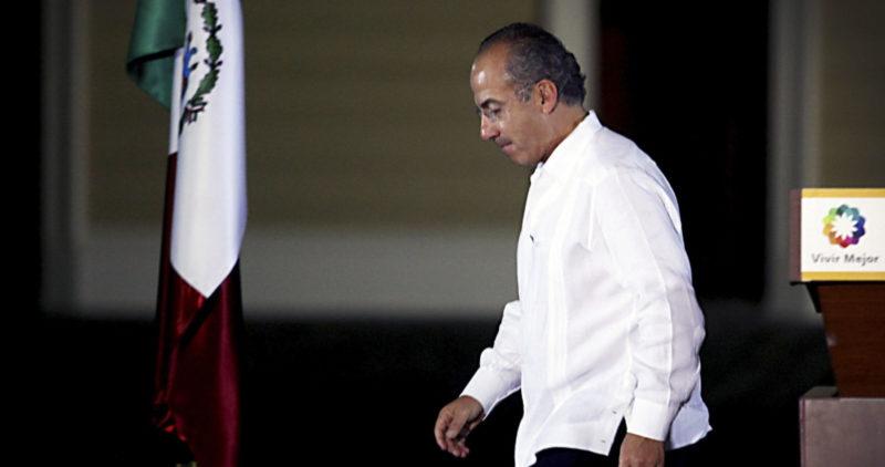 Video: Calderón considera que México sigue los pasos de Venezuela, donde no descarta la rebelión armada para deponer al gobierno