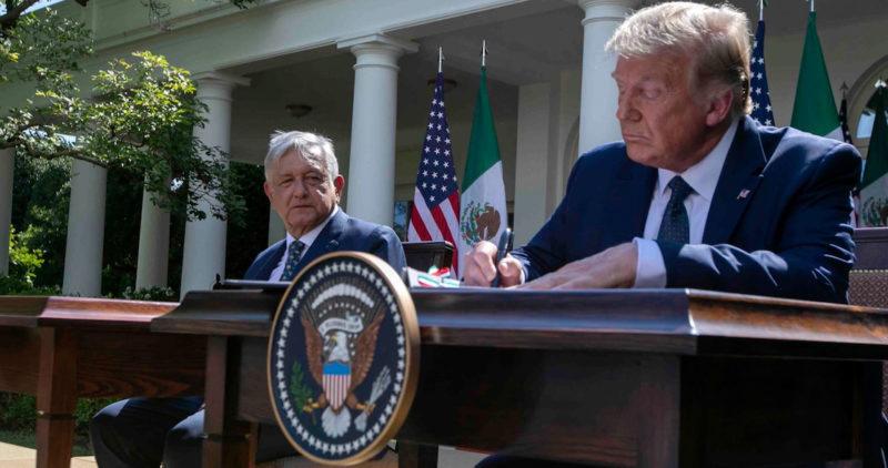 EU tendrá más de 450 millas de muro fronterizo con México para fin de año, anuncia Trump