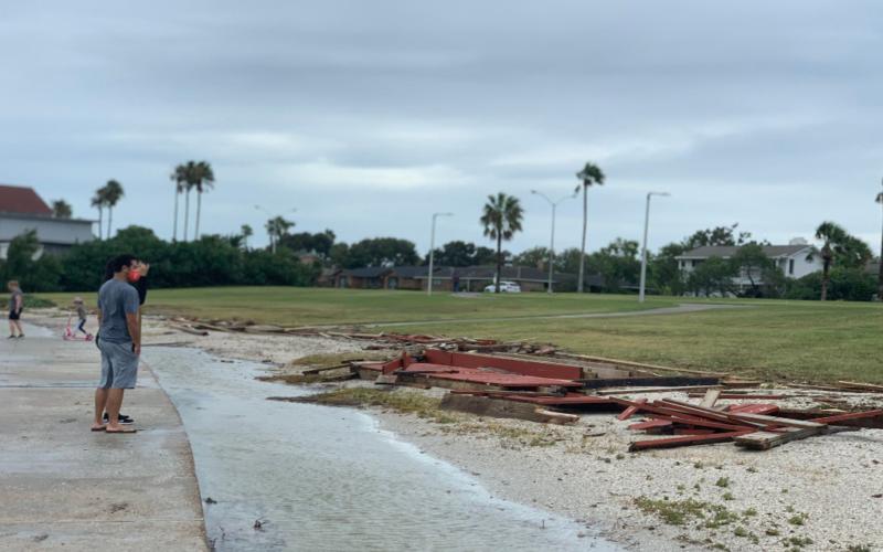 Videos: Trump declara estado de emergencia en Texas por impacto del huracán 'Hanna'