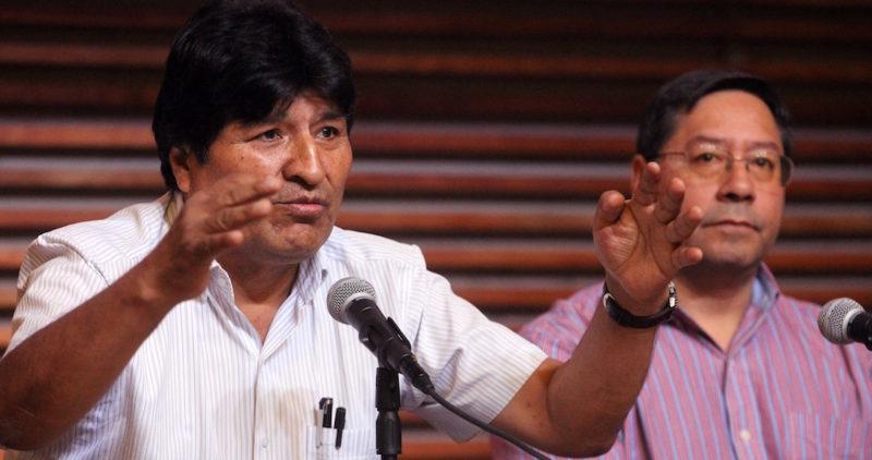 La Fiscalía de Bolivia acusa a Evo Morales de terrorismo y pide su detención preventiva