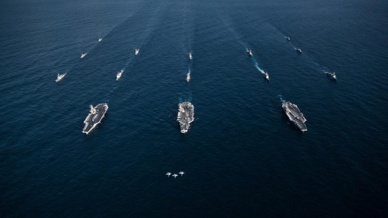 Video: EU enviará 2 portaviones y varios buques de guerra al mar de la China Meridional, zona donde Pekín realiza maniobras militares