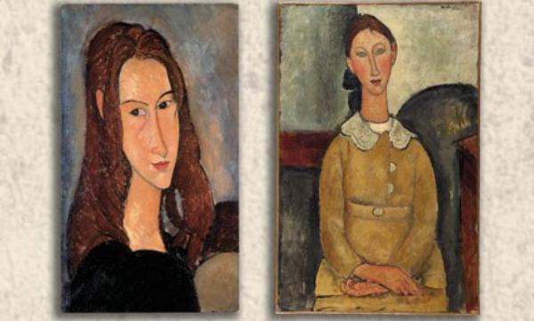 Muestra virtual del pintor y escultor italiano Amedeo Modigliani, este 1 de agosto