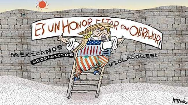 """Trump revira a Caucus Hispano que pide frenar cita con AMLO: """"Es mi amigo y un hombre maravilloso"""""""