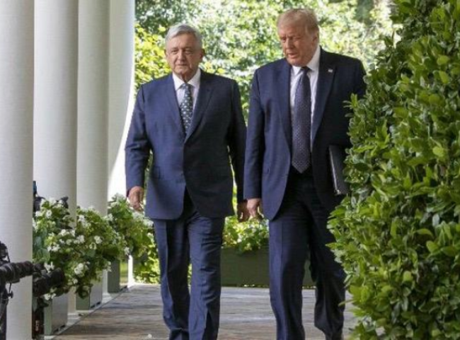A México, Trump no ha pretendido aplicar la Doctrina Monroe ni tratarlo como colonia: AMLO. Posible, un entendimiento sin prepotencia ni extremismos, destacó.
