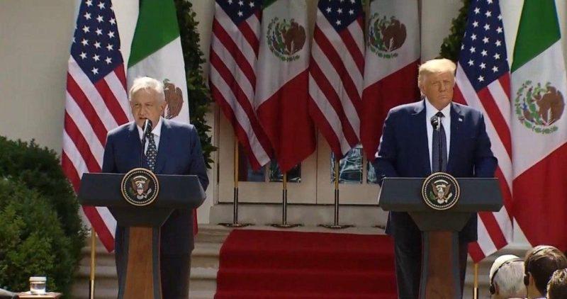 """Video: AMLO y Trump: Quienes aportaron al desencuentro se equivocaron. """"Marchamos juntos al porvenir"""""""