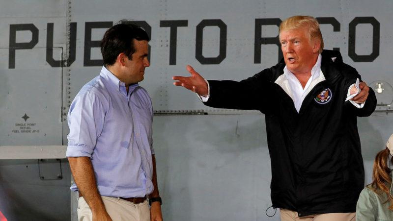"""Revelan que Trump propuso """"vender"""" la isla de Puerto Rico tras ser azotada por el huracán María"""