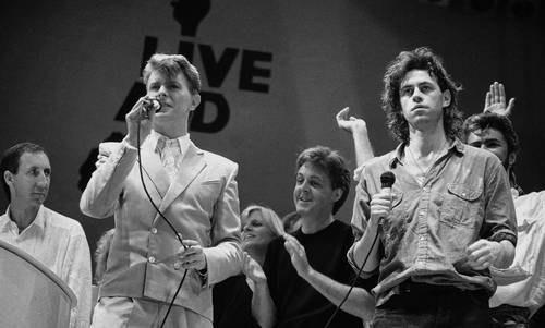 Los conciertos Live Aid ayudaron en África, pero arruinaron a Bob Geldof
