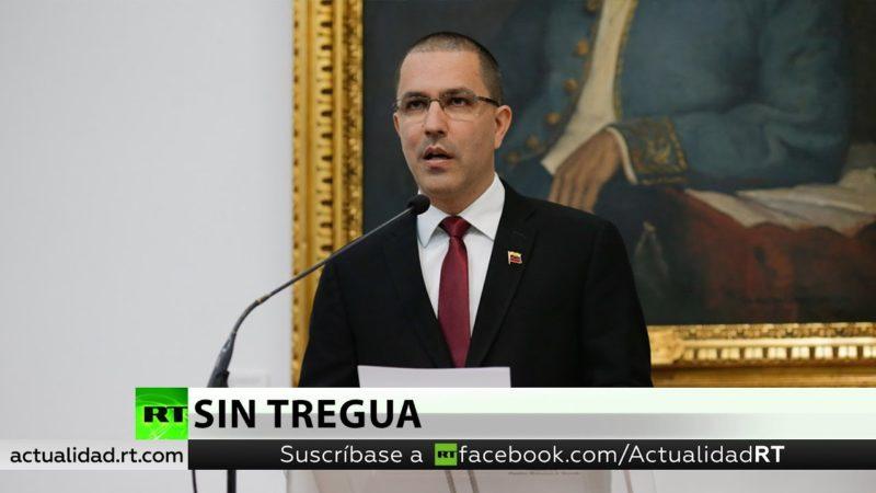 """Video: Venezuela denuncia el """"ingreso furtivo"""" del buque de guerra estadounidense USS Pinckney a su zona contigua"""
