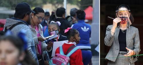 Padres de familia en México cambian a sus hijos de escuelas particulares a públicas por crisis económica derivada del Covid-19. Autoridades afirman que hay cupo para todos