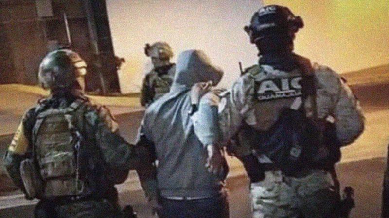 """Videos: Capturan a """"El Marro"""" fuerzas federales y estatales: presumen coordinación en todos los detalles"""