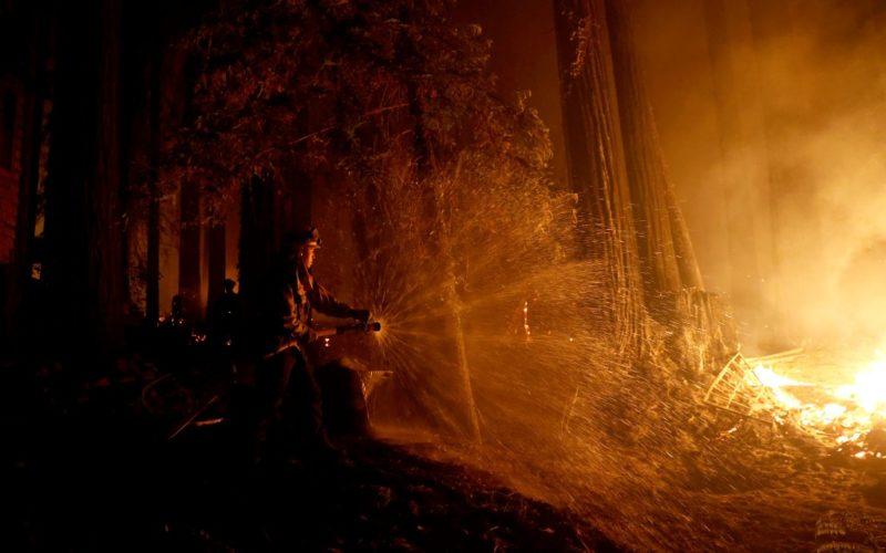 Videos: En California, miles de desplazados por incendios sin control, una severa ola de calor y una creciente andemia