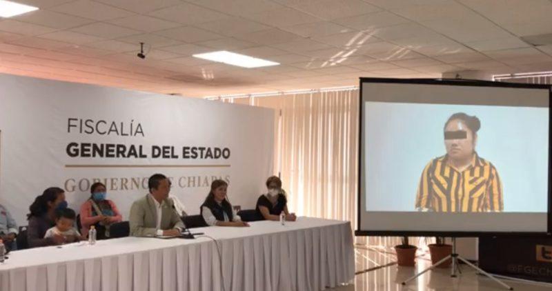 Una mujer de 23 años es detenida en Chiapas por el robo del niño Dylan; pasaría 75 años en prisión