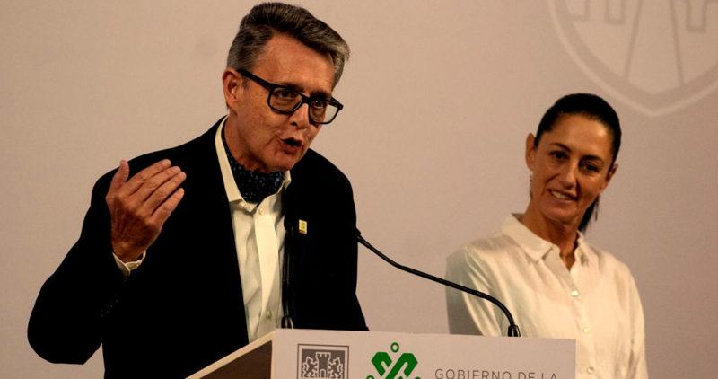 Suárez del Real, secretario general de gobirno de la Ciudad de México, tiene COVID-19, y Sheinbaum se aislará unos días; el domingo estuvieron juntos
