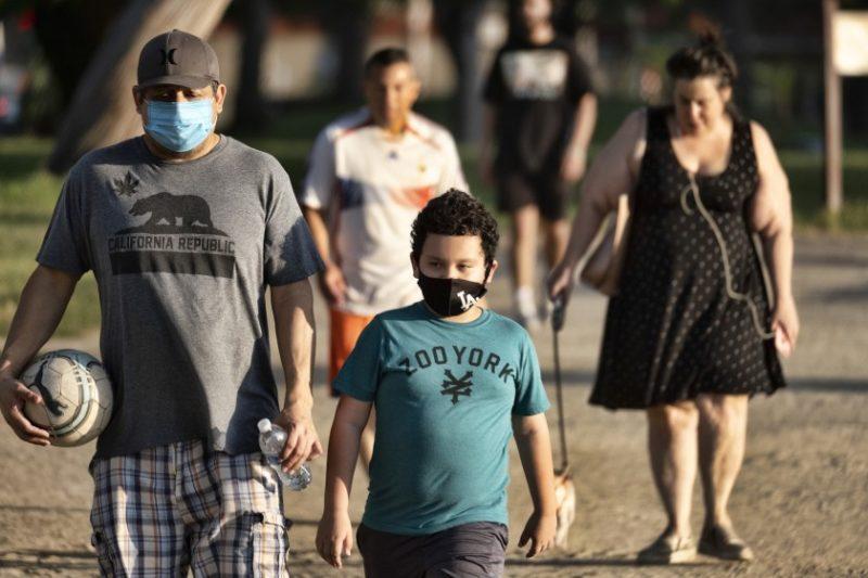 Llegó a medio millón el numero de infectados por COVID-19 en California