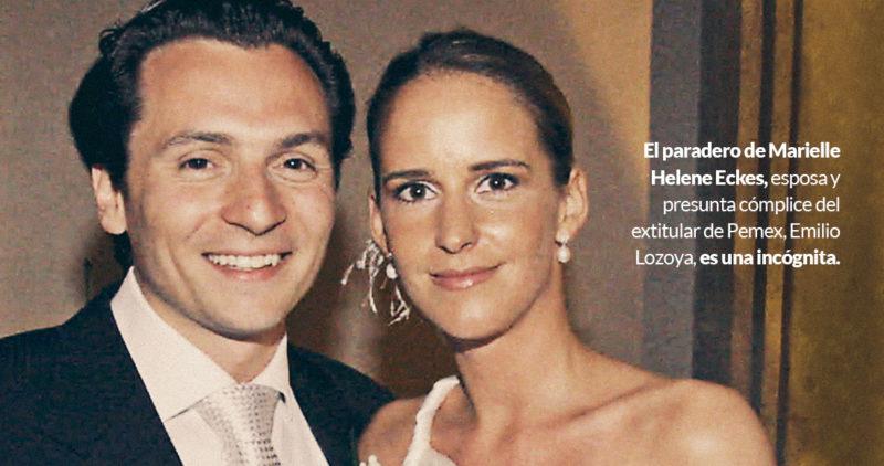 ¿Dónde está la esposa de Lozoya? De rica heredera pasa a fugitiva por lavado en Alemania y México