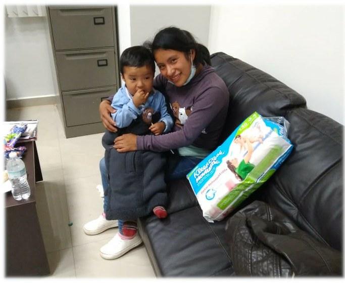 Tras 44 días de secuestro, encuentran sano y salvo al niño Dylan Esaú, de dos años. Plagiado por una señora que no tenía hijos