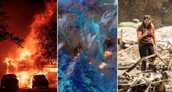 Ya han ardido 1.3 millones de acres en California y el vaticinio es que los incendios sigan creciendo por las tormentas eléctricas