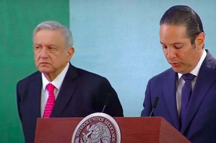 """""""Doy la cara y defenderé mi nombre"""": Francisco Domínguez, Gobernador de Querétaro, ante AMLO"""