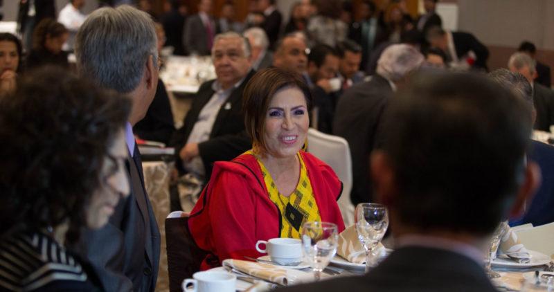 La Fiscalía pide a Rosario Robles que pague los 5 mil millones que desviaron con la Estafa Maestra