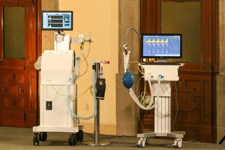 Entregan primeros 275 ventiladores para atender Covid-19 fabricados en México