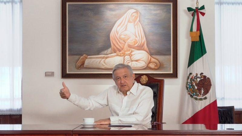 """Video: AMLO dice que la complicidad con autoridades e impunidad hicieron crecer a """"El Marro"""" y a su Cártel"""