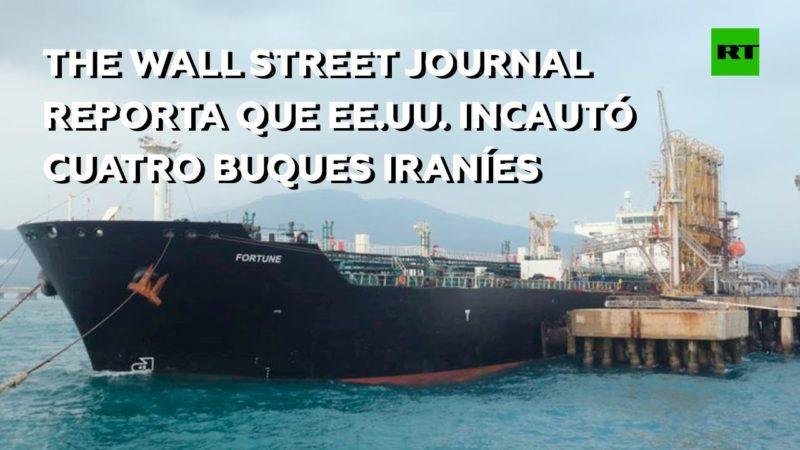 Videos: Venezuela desmiente que EU haya capturado cuatro buques iraníes que le llevaban  petróleo