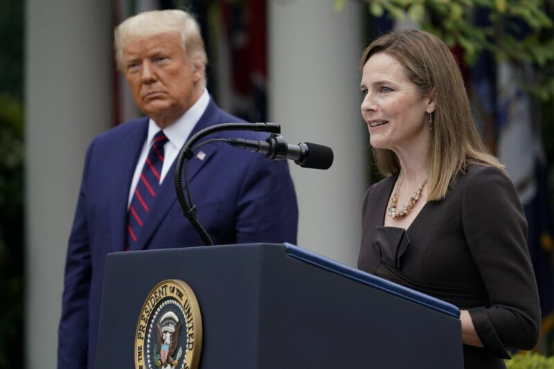 Trump nomina a Amy Coney Barrett como jueza de la Corte Suprema
